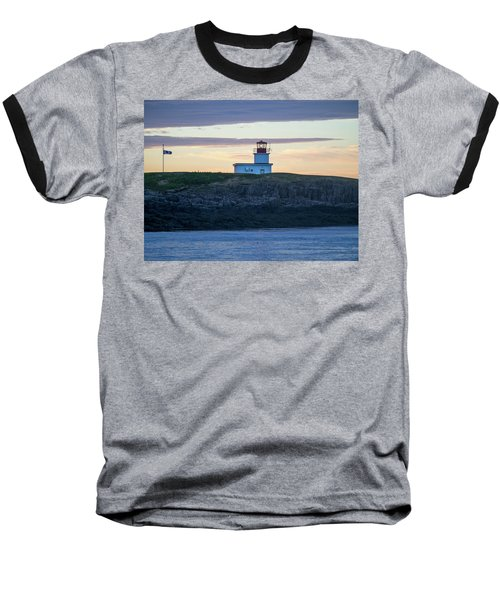 Baseball T-Shirt featuring the photograph Sunset Nova Scotia  by Trace Kittrell