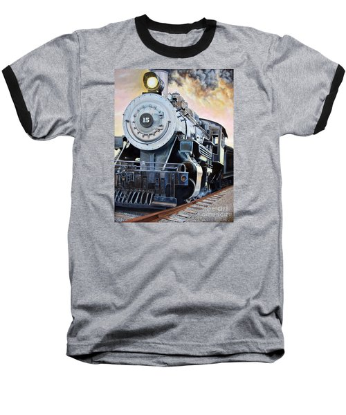 Sunset Of An Era Baseball T-Shirt