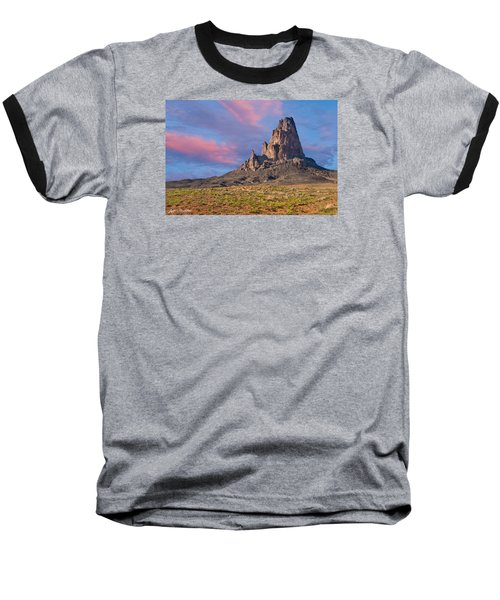 Sunset On Agathla Peak Baseball T-Shirt by Jeff Goulden