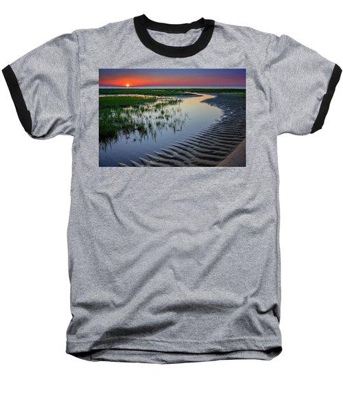 Sunset On Cape Cod Baseball T-Shirt