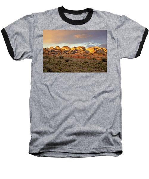 Sunset On Capitol Reef Baseball T-Shirt