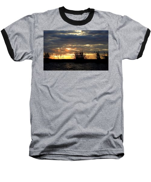 Baseball T-Shirt featuring the photograph Sunset On Chobe River by Betty-Anne McDonald