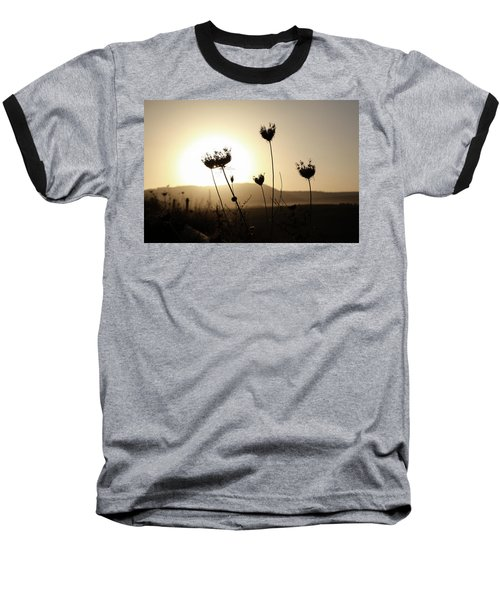 Baseball T-Shirt featuring the photograph Sunset On Galilee Road by Yoel Koskas