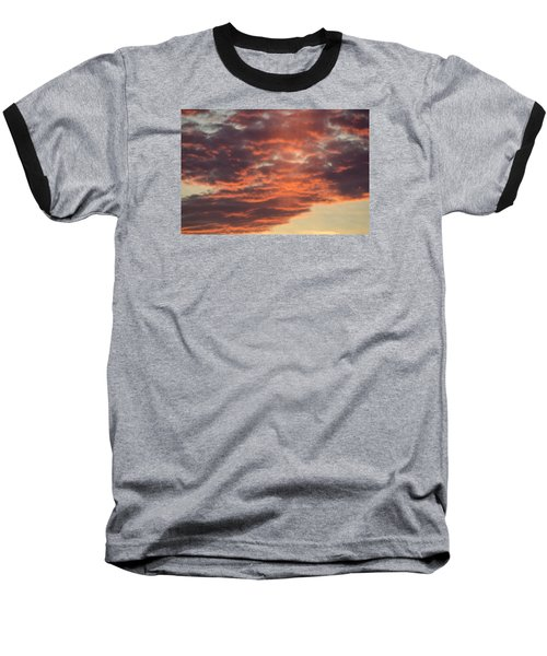 Sunset On Hunton Lane #10 Baseball T-Shirt