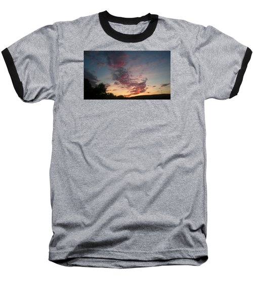 Baseball T-Shirt featuring the photograph Sunset On Hunton Lane #11 by Carlee Ojeda