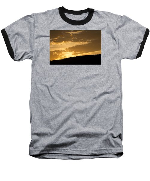 Sunset On Hunton Lane #4 Baseball T-Shirt
