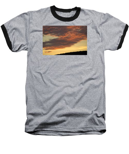 Sunset On Hunton Lane #7 Baseball T-Shirt