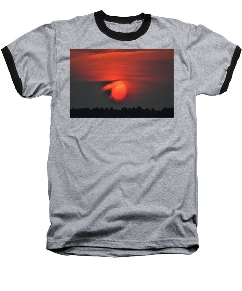 Sunset On Plum Island Baseball T-Shirt