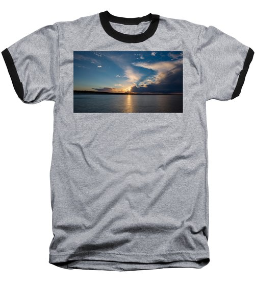 Sunset On The Baltic Sea Baseball T-Shirt