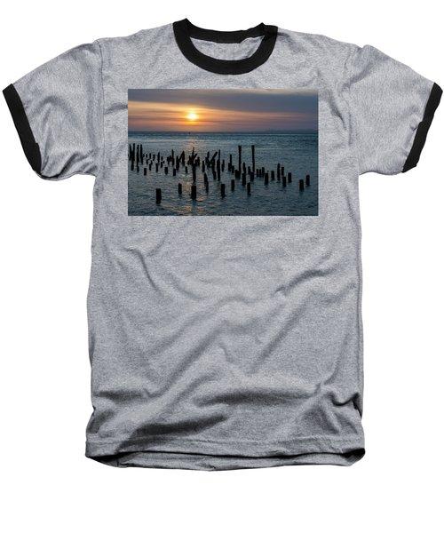 Sunset On The Empire Baseball T-Shirt