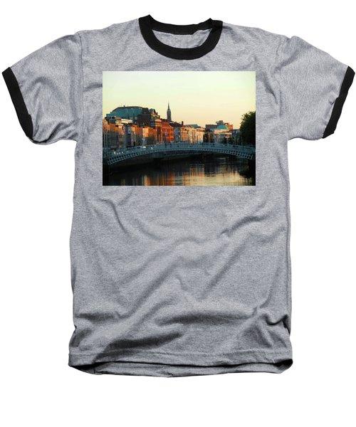 Sunset On The Ha'penny Baseball T-Shirt