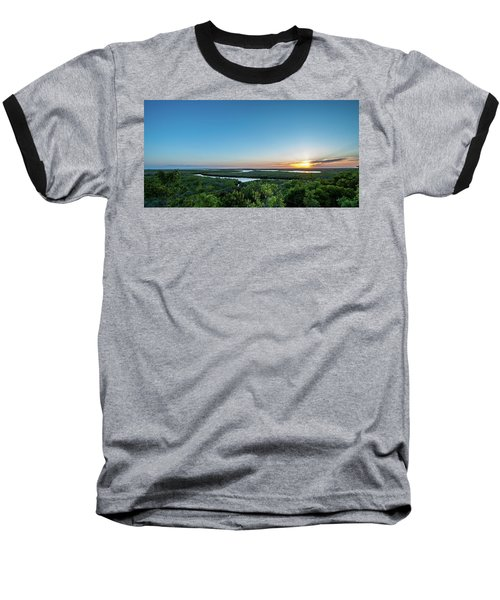 Sunset On The Outer Banks Baseball T-Shirt