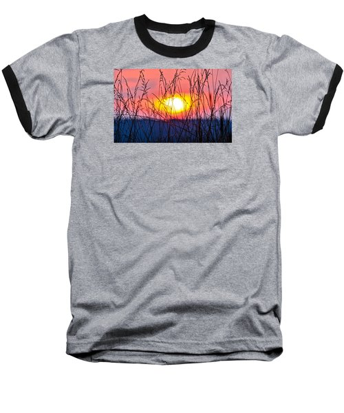 Sunset On The Prairie  Baseball T-Shirt