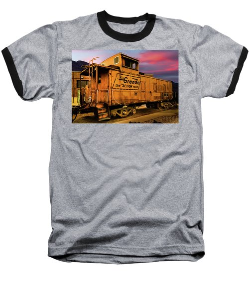 Sunset On The Rio Grande Baseball T-Shirt