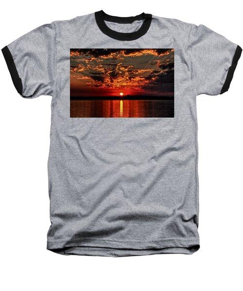 Sunset On The Zambezi Baseball T-Shirt