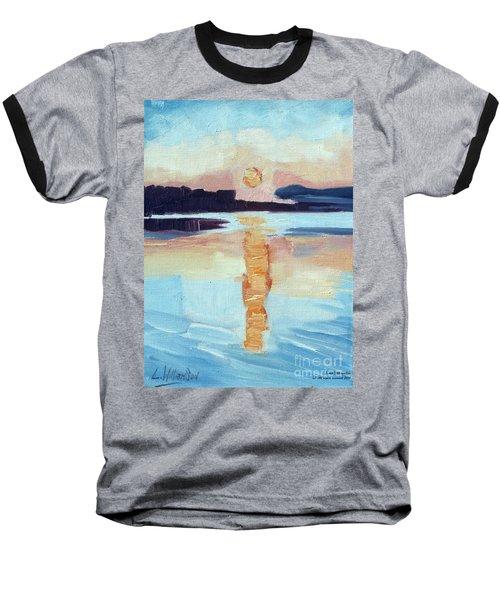 Sunset On Vancouver Island Baseball T-Shirt