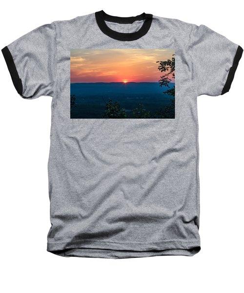 Sunset Over Easthampton Baseball T-Shirt
