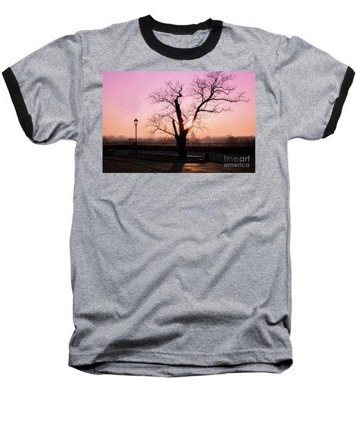 Baseball T-Shirt featuring the photograph Sunset Over Krakow by Juli Scalzi