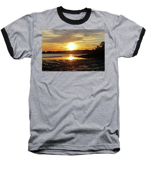Sunset Over Lynch Park Beverly Ma Baseball T-Shirt