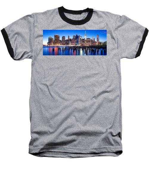 Magic Manhattan Baseball T-Shirt