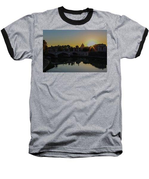 Sunset Over St Peters Baseball T-Shirt