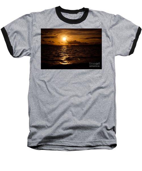 Sunset Over The Cunnigar Baseball T-Shirt