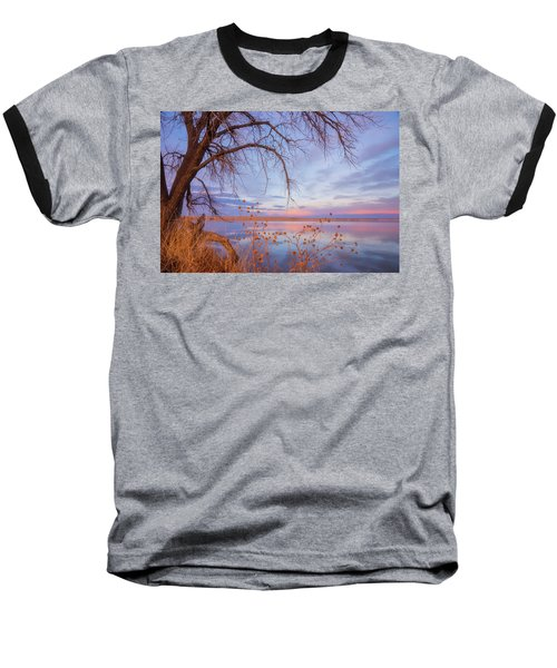 Baseball T-Shirt featuring the photograph Sunset Overhang by Darren White