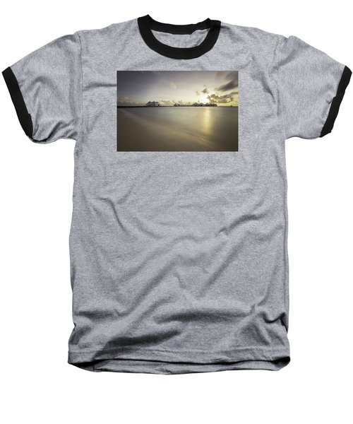 Sunset Paradise Baseball T-Shirt