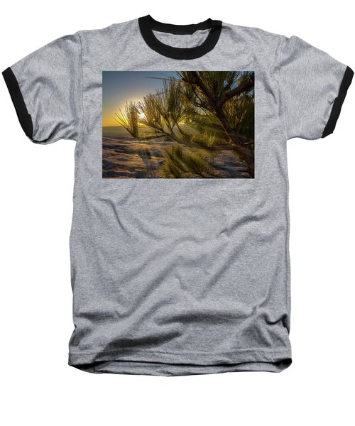 Sunset Pines Baseball T-Shirt