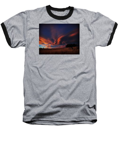 Sunset Plains Baseball T-Shirt