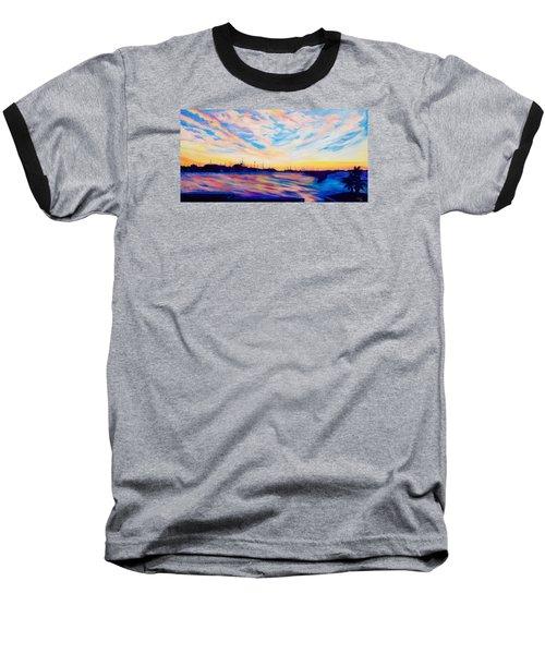 Sunset Point Baseball T-Shirt