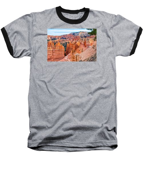 Baseball T-Shirt featuring the photograph Sunset Point Tableau by John M Bailey