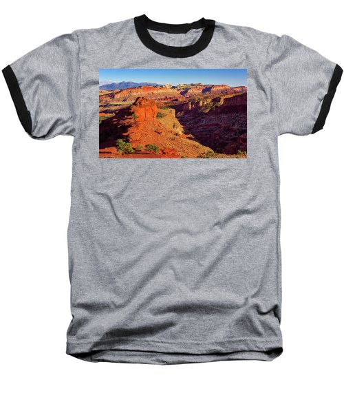 Sunset Point View Baseball T-Shirt