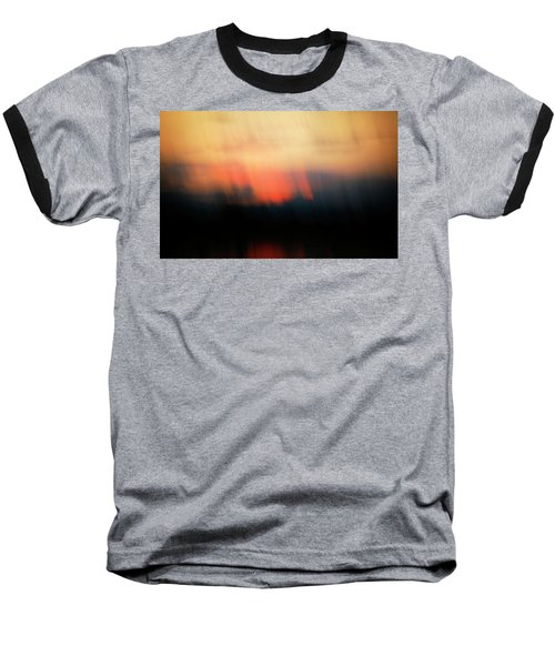 Baseball T-Shirt featuring the photograph Sunset Raining Down by Marilyn Hunt