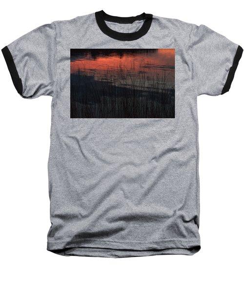 Sunset Reeds Baseball T-Shirt