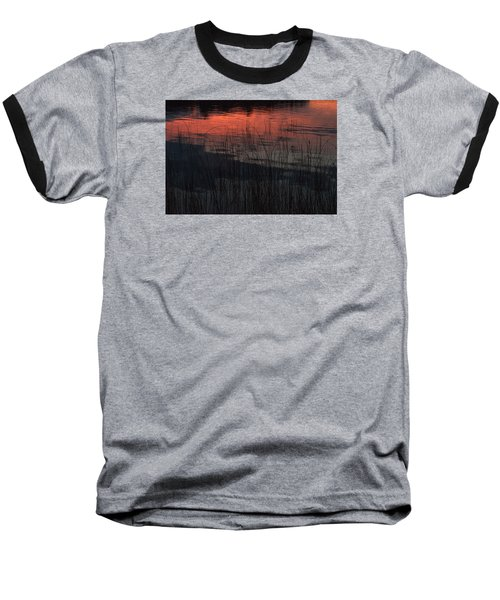 Sunset Reeds Baseball T-Shirt