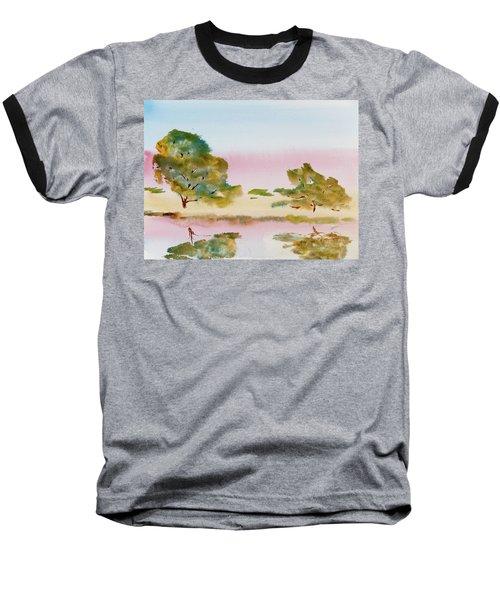 Reflections At Sunrise Baseball T-Shirt