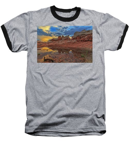 Sunset Reflections Baseball T-Shirt