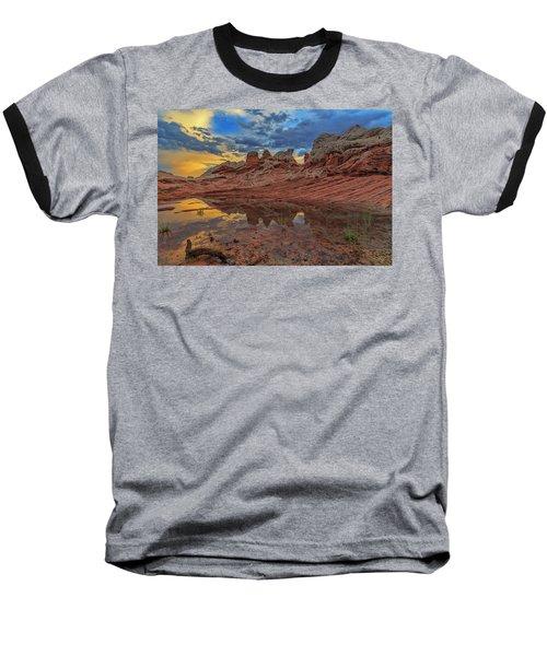Sunset Reflections Baseball T-Shirt