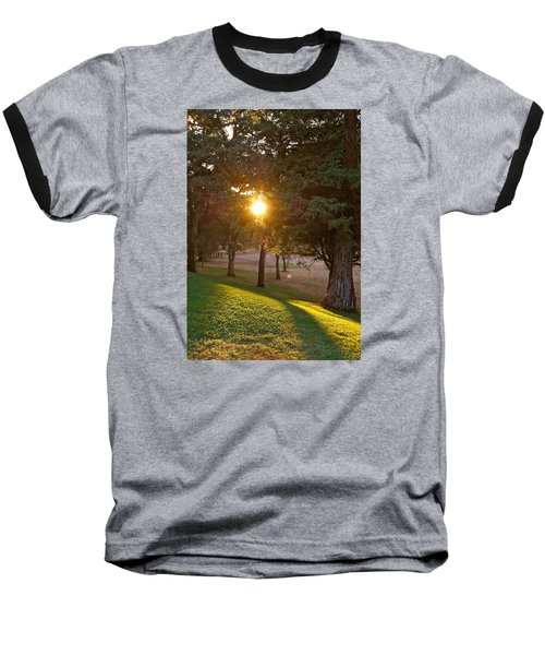 Sunset Retreat Baseball T-Shirt