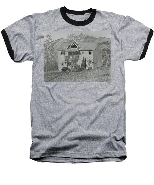 Sunset  Ridge  Baseball T-Shirt by Tony Clark