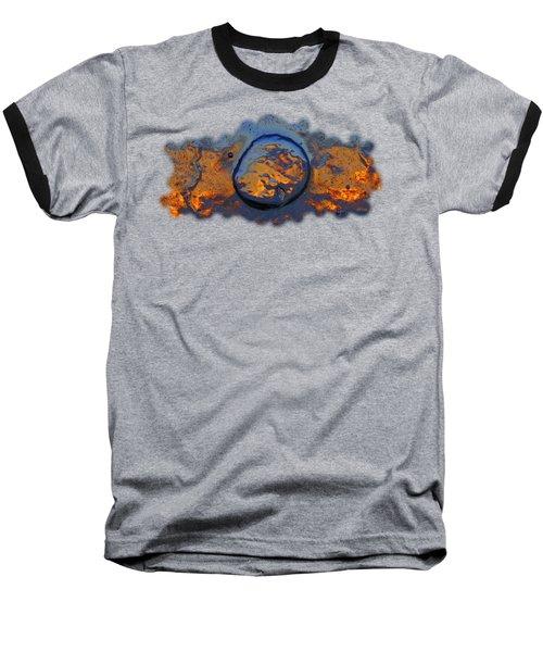 Sunset Rings Baseball T-Shirt by Sami Tiainen