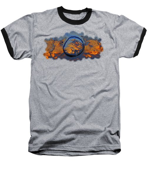 Sunset Rings Baseball T-Shirt