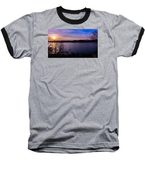 Sunset River Baseball T-Shirt