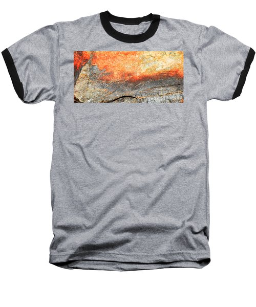 Sunset Rock Scene Baseball T-Shirt