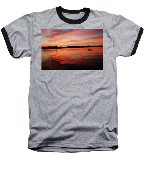 Sunset Row Baseball T-Shirt