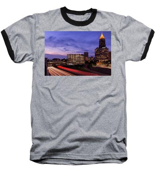 Sunset Rush Baseball T-Shirt