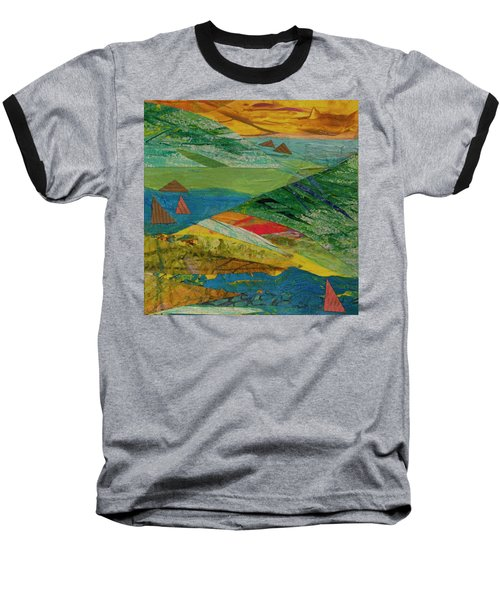 Sunset Sails 3 Baseball T-Shirt