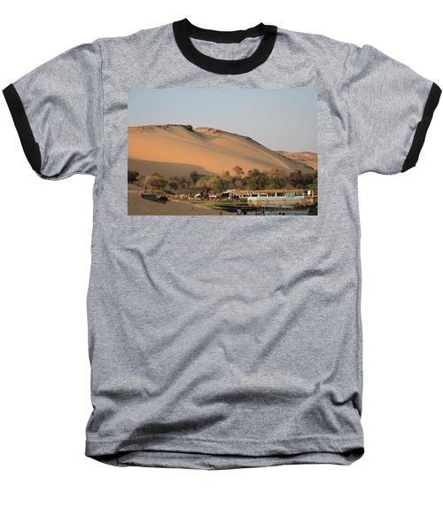 Sunset Baseball T-Shirt by Silvia Bruno