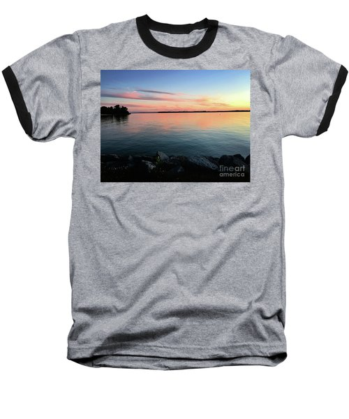 Sunset Sky Baseball T-Shirt